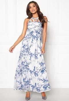 b.young Lain Dress 80469 Blue Indigo Bubbleroom.dk
