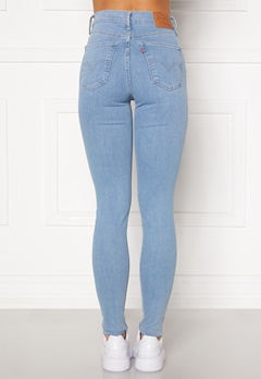 LEVI'S Mile High Super Skinny Jeans 0181 galaxy hazy day Bubbleroom.dk