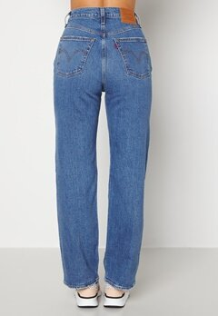 LEVI'S Ribcage Straight Ankle 0099 Jive Together bubbleroom.dk