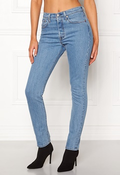 LEVI'S 501 Skinny Jeans 0077 Small Blessings Bubbleroom.dk