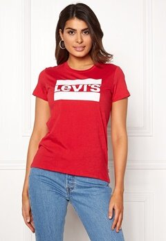 LEVI'S The Perfect Tee 0408 SPTWR Lychee Bubbleroom.dk