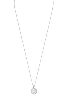 SNÖ of Sweden Lex Pendant Necklace Silver/Clear Bubbleroom.dk