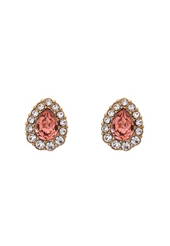 LILY AND ROSE Amelie Earrings Blush Rose Bubbleroom.dk