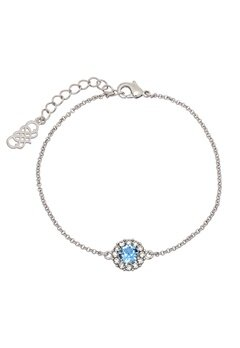 LILY AND ROSE Celeste Bracelet Light Sapphire Bubbleroom.dk