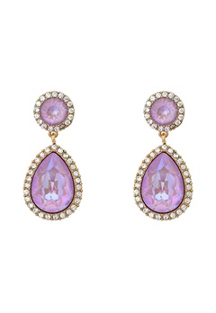 LILY AND ROSE Miss Charlotta Earrings Lilac Rainbow Bubbleroom.dk