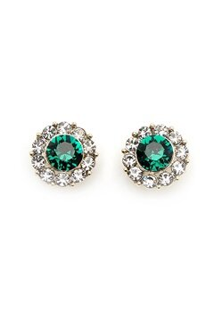 LILY AND ROSE Miss Sofia Earrings Emerald Bubbleroom.dk