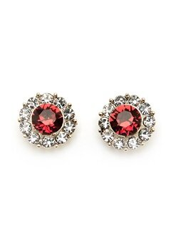 LILY AND ROSE Miss Sofia Earrings Scarlett Red Bubbleroom.dk