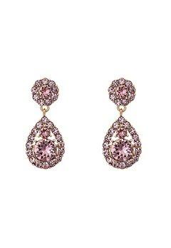 LILY AND ROSE Petite Sofia Earrings Rose Peach Bubbleroom.dk