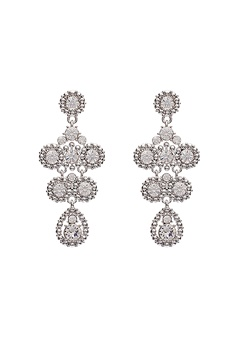 LILY AND ROSE Petite Kate Earrings Crystal Bubbleroom.dk