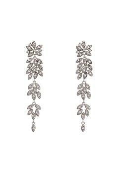 LILY AND ROSE Petite Laurel Earrings Crystal Bubbleroom.dk