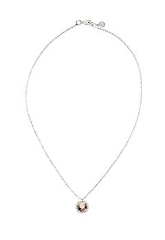 SNÖ of Sweden Lissy Pendant Necklace Silver/Vintage Rose Bubbleroom.dk