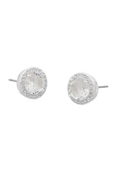 SNÖ of Sweden Lissy Stone Earrings Silver/Clear Bubbleroom.dk