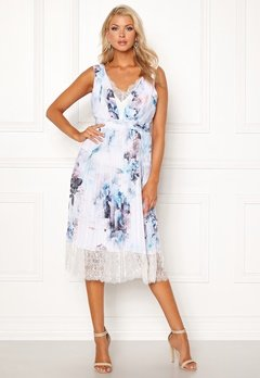 Little Mistress Bella Midi Dress Multi Bubbleroom.dk