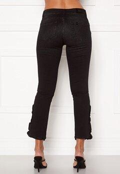 Liu Jo Ruffle Jeans 87204 Den.Black Bubbleroom.dk