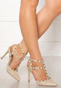 Truffle Liw High Heel Sandals Nude Bubbleroom.dk