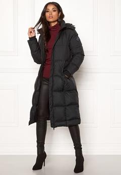 GANT Long Down Coat 5 Black Bubbleroom.dk