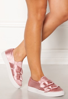 LOST INK Hally Side Bow Slip On Pink Bubbleroom.dk