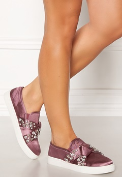 LOST INK Kara Jewel Bow Slip On Pink Bubbleroom.dk