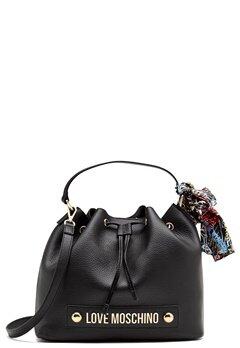 Love Moschino Love II Bag Black Bubbleroom.dk