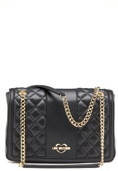 Love Moschino Love M Big Bag Black Bubbleroom.dk