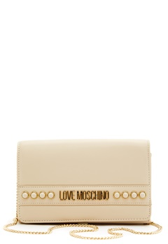 Love Moschino Evening Bag 110 Ivory Bubbleroom.dk
