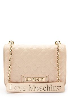 Love Moschino Evening Bag Ivory Bubbleroom.dk