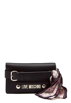 Love Moschino Lettering Love Moschino Black Bubbleroom.dk