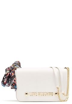 Love Moschino Love Bag White Bubbleroom.dk
