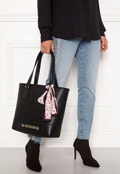 Love Moschino Love Moschino Letter Bag Black Bubbleroom.dk
