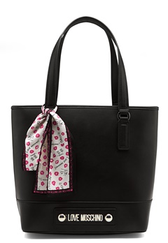Love Moschino Love Moschino Letter Bag Black Bubbleroom.dk