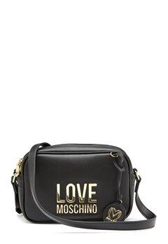 Love Moschino Love Moschino Lettering Bag 00A Black bubbleroom.dk