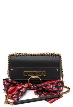 Love Moschino Love Moschino Scarf Bag 000 Black Bubbleroom.dk