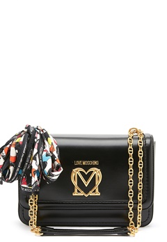 Love Moschino New Love Moschino Scarf Bag 000 black Bubbleroom.dk