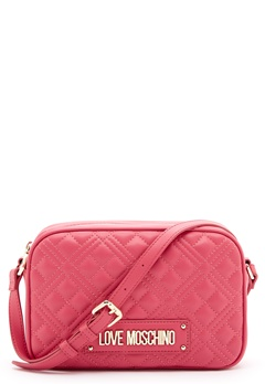 Love Moschino New Shiny Quilted Bag 604 Fuxia Bubbleroom.dk