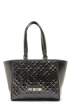 Love Moschino Quilted Bag Black Bubbleroom.dk