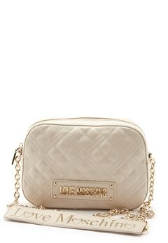 Love Moschino Quilted Bum Bag Ivory Bubbleroom.dk