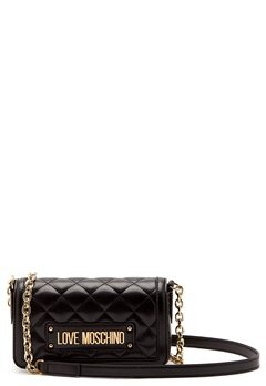 Love Moschino Quilted Chain Bag Black Bubbleroom.dk