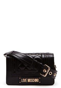 Love Moschino Quilted Shoulder Bag Black Bubbleroom.dk