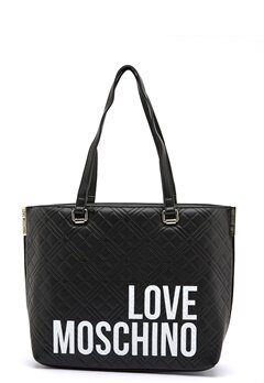 Love Moschino Shopping Lovers 00A Black Bubbleroom.dk