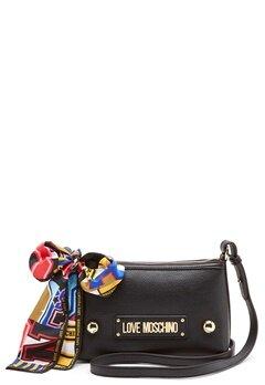Love Moschino Small Scarf Bag Black Bubbleroom.dk