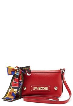 Love Moschino Small Scarf Bag Red Bubbleroom.dk