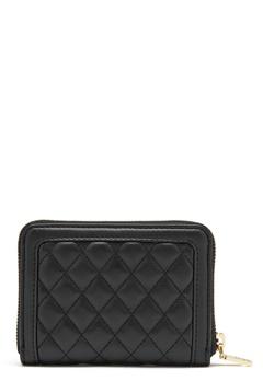 Love Moschino Wallet 00B Black/Gold Bubbleroom.dk