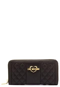 Love Moschino Wallet Black/Gold Bubbleroom.dk