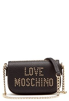 Love Moschino Love New Bag Black/Gold Bubbleroom.dk