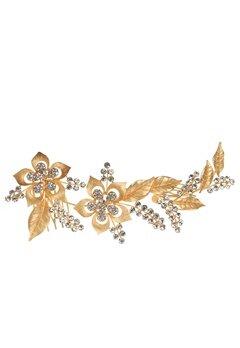 Love Rocks Crystal Hair Jewelry Gold Bubbleroom.dk