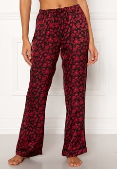 Love Stories Billy Pyjama Pants Bordeaux Bubbleroom.dk