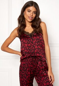 Love Stories Camelia Camisole Top Bordeaux Bubbleroom.dk