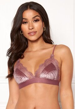 Love Stories Love Lace Bralette Purple Bubbleroom.dk