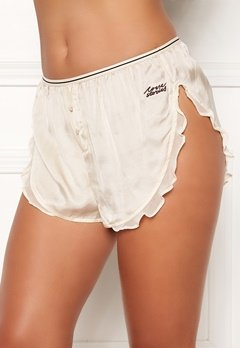 Love Stories Mae Cover Up Shorts Off White Bubbleroom.dk