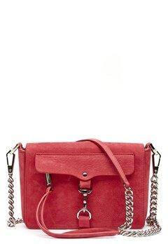 Rebecca Minkoff Mab Flap Crossbody Bag 666 Scarlett/Silver Bubbleroom.dk